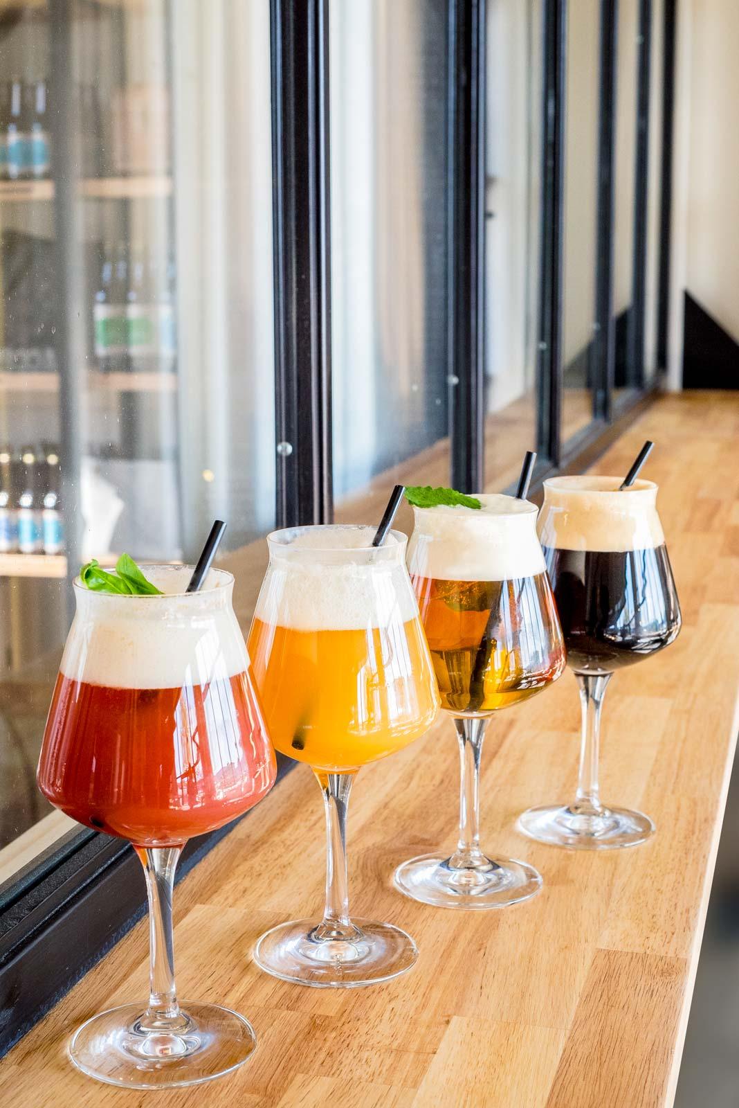 les cocktails à la bière